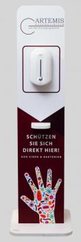 Desinfektionssäule Bc101 mit Eurem Logo