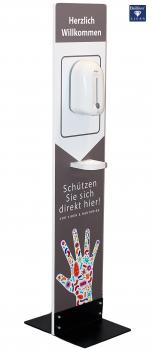 Desinfetionssäule Bc102 mit Eurem Logo