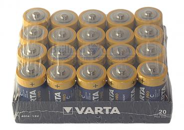 20450-LR14 -20er pack Varta Industrial Batterie C