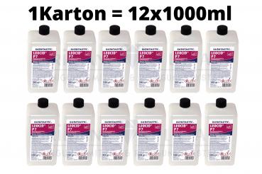 Skintastic Leocid P7 12x1000ml Händedesinfektion